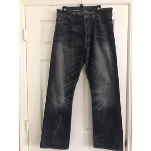 Relaxed Straight Men's Jeans